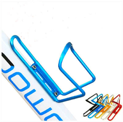 2014 New Portable Sports Moutain Bicycle Aluminum Water Bottle Holder Light Cycling Road Alloy Cage Bike Rack Out doorsports(China (Mainland))