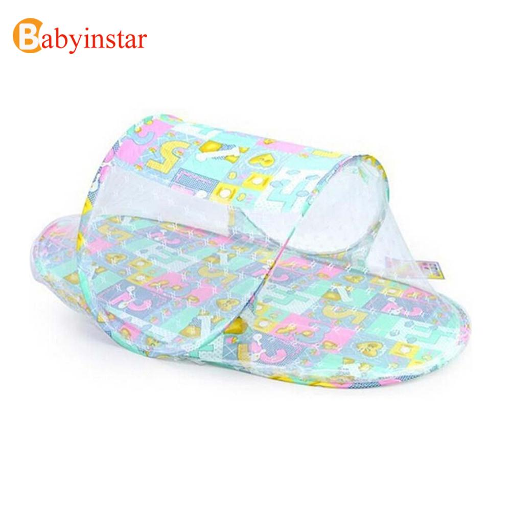 Hot Product Amazing Summer Baby Infants Insect Netting Portable Baby Bed Crib Folding Mosquito Net Infant Crib Netting(China (Mainland))
