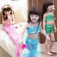 Retail 2015 Ne Girls Swimwear 2-8Y Fashion Kids Bikini Sets Baby Girl Mermaid Swimsuit bathing suits - Shenzhen U-Show Apparel Co., Ltd. store