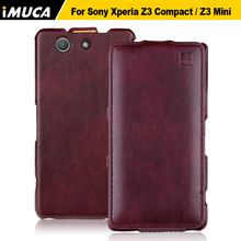 Buy Luxury Flip Leather Case Sony Xperia Z3 Compact D5803 Back Cover Coque Sony Z3 Compact Z3 Mini D5803 M55W Phone Cases for $5.99 in AliExpress store