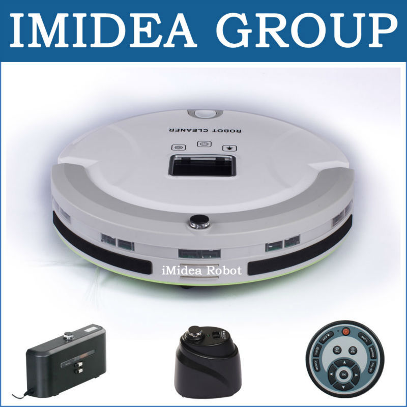 5 In 1 Multifunction Robotic Vacuum Cleaner, Floor Cleaning Robot for carpet hardwood tile linoleum floor, Auto Charge, 55dB(China (Mainland))