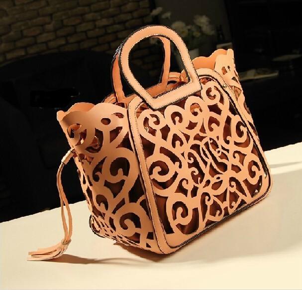 Women female Fringe Tassel Hollow out famous brand leather tote designer handbags messenger bags bolsa franja bolsos mujer 45<br><br>Aliexpress