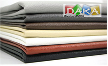High quality Width 140cm litchi grain PU leather,faux leather fabric for Sewing,synthetic leather,artificial leather for diy,etc(China (Mainland))