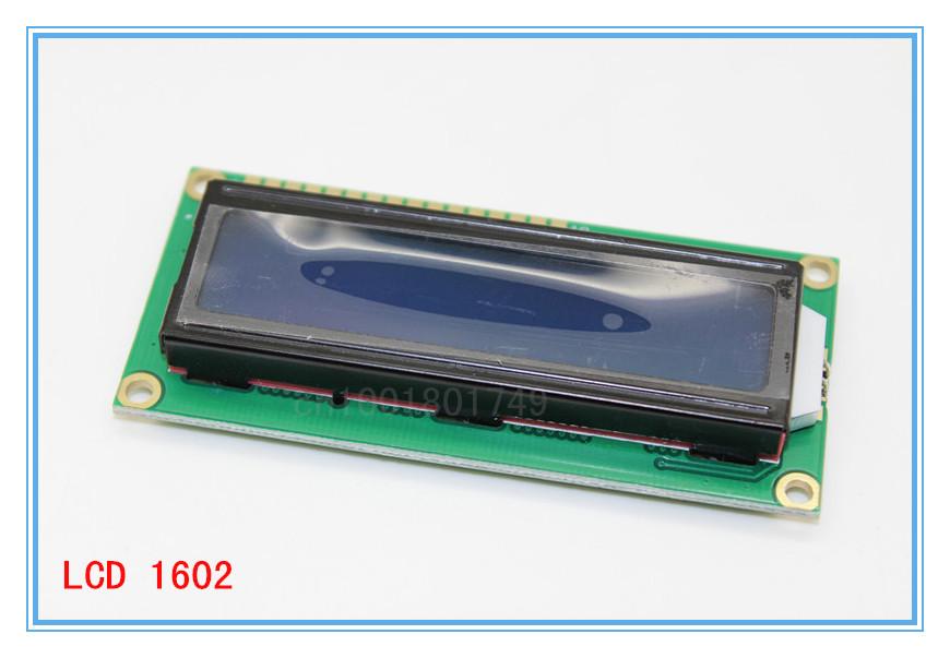 Гаджет  LCD Keypad Shield LCD1602 LCD 1602 Module Display ATMEGA328 ATMEGA2560 raspberry pi UNO blue screen None Электронные компоненты и материалы