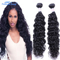 Brazilian Deep Wave 4 Bundles With Closure 7A Unprocessed Brazilian Virgin Hair Weave Bundles With Lace Closure Human Hair Weave