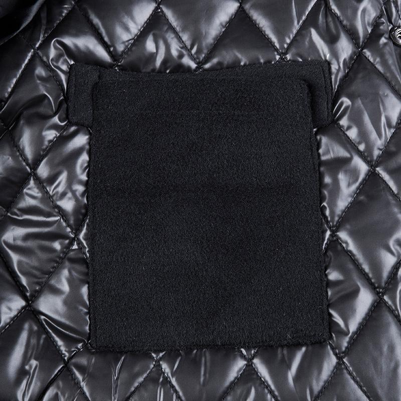 VIISHOW 2015 New arrived warm winter coat men black coat patchwork jacket for men rib cuff