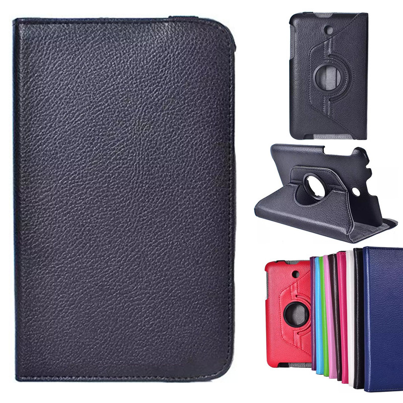 Degree Rotation Pu Leather Stand Tablet Cover Case Asus MeMO Pad 7 ME176 ME176C ME176CX + Stylus - Shenzhen OYL technology co., LTD store