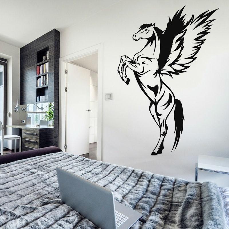 Paard muurschildering promotie winkel voor promoties paard - Vinilo decorativo ikea ...