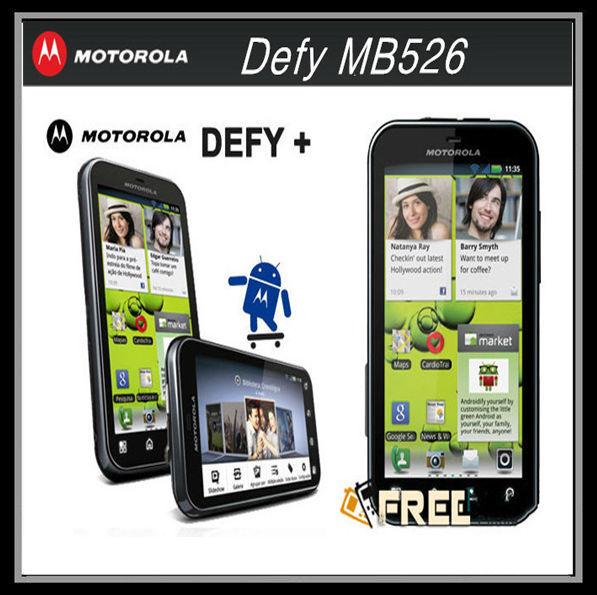 "MB526 MOTOROLA Defy MB526 Original Unlock Dust & Water Resistant refurbished Mobile Phone 3.7""Touch Screen 5MP Camera A-GPS WIFI(China (Mainland))"