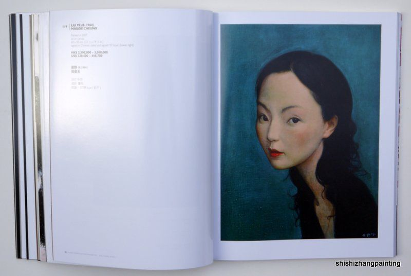 catalog Chinese modern and contemporary art POLY auction 2012 HK painting book<br><br>Aliexpress