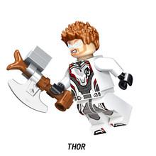 Avengers Endgame Marvel Super hero Capitano Macchina da Guerra Compatibile Legoed Hulk Thanos Galaxy iron man Figure Blocchi di Costruzione Del Giocattolo(China)