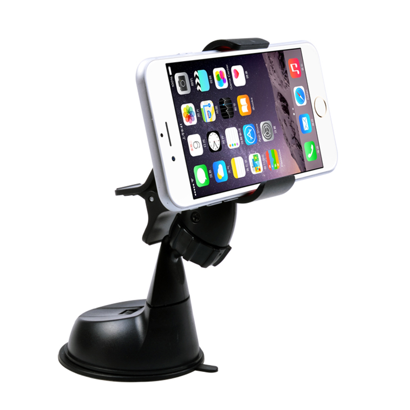 Universal Soporte Movil Car Windshield Sucker Mount Bracket Stand Holder For Your Mobile Phone GPS Accessories(China (Mainland))