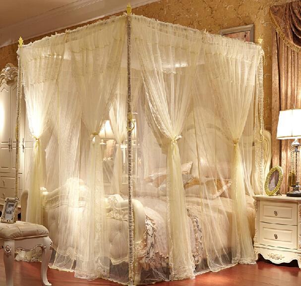 De luxo de alta qualidade pal cio rainha e rei cama de for Pabellon para cama king size