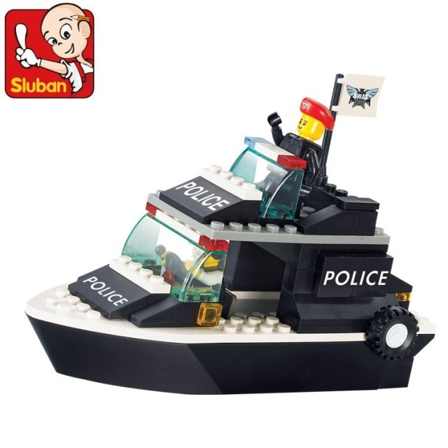 puzzle plastic fight inserted riot police / patrol M38-B1700(China (Mainland))