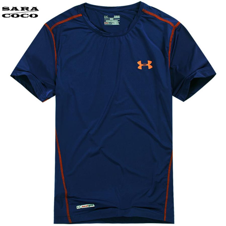 Quick Drying Cycling Running T Shirts Casual Outdoor Sport Clothing Men Wearable UV Anti-static Hiking T-shirt Fishing Clothes