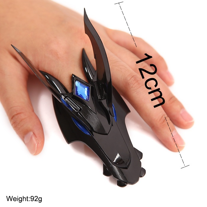 LOL Half-Dragon Shyvana Zinc Alloy Weapons Model 2 styles Kids toys Christmas Gift High IN stock