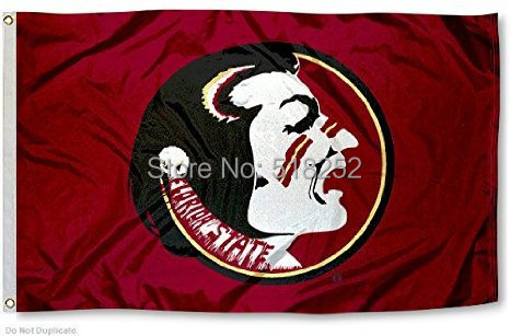 NCAA Florida State University Seminoles Flag 3x5 FT 150X90CM Banner 100D Polyester flag 107, free shipping(China (Mainland))