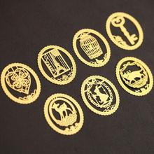 Новые Симпатичные Kawaii Золотой Металлические Bookmark мод прекрасный мультфильм Birdcage Корона Cat закладки для книг Канцелярские Бесплатная доставка 739