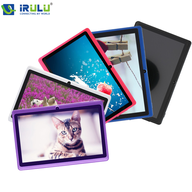 IRULU X1 7'' Tablet 1.5GHz Quad Core 512MB RAM 16GB ROM Android 4.4 Dual Cameras 0.3MP +2.0MP  3G External Computer PC 2015 Hot(China (Mainland))