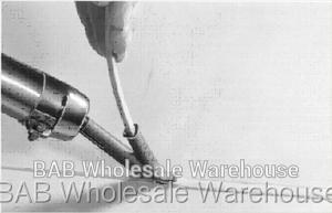 40 шт. нетоксичные пластиковые сварочные стержни ABS/PP/PVC/PE для пистолет сварки howtoweld2