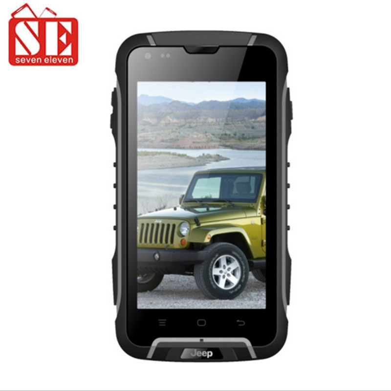 """Suppu F6 Waterproof mobile phone MTK6582 quad core 4.5""""IPS screen Android 4.4 IP68 rugged 1GB RAM 8GB ROM JEEP F6 cell phone(China (Mainland))"""
