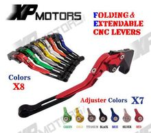 Adjustable Folding Extendable Brake Clutch Levers For Ducati MONSTER 1200 S 2014