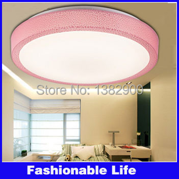 12/18 Watt Round LED Ceiling Light Kitchen Bathroom Lamp AC220V light 24/36 SMD5730 LEDs Warm White 3 colors cover - Yours fashionable life store
