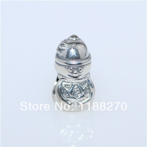 925 Sterling Silver Charm An Old ManBead European Charm Fit Snake Chains& Necklaces Bracelet DIY(China (Mainland))
