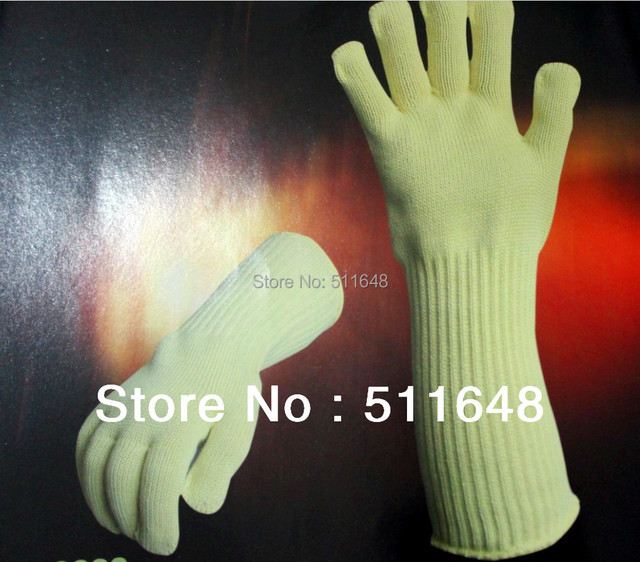 0202 380mm High Heat Resistant Gloves,Cut Resistant Gloves drop shipping