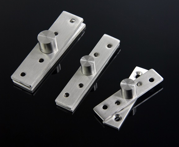 20PCS/Lot 76*18mm Stainless Steel Top Bottom Mount 360 Degrees Pivot Hinge(China (Mainland))