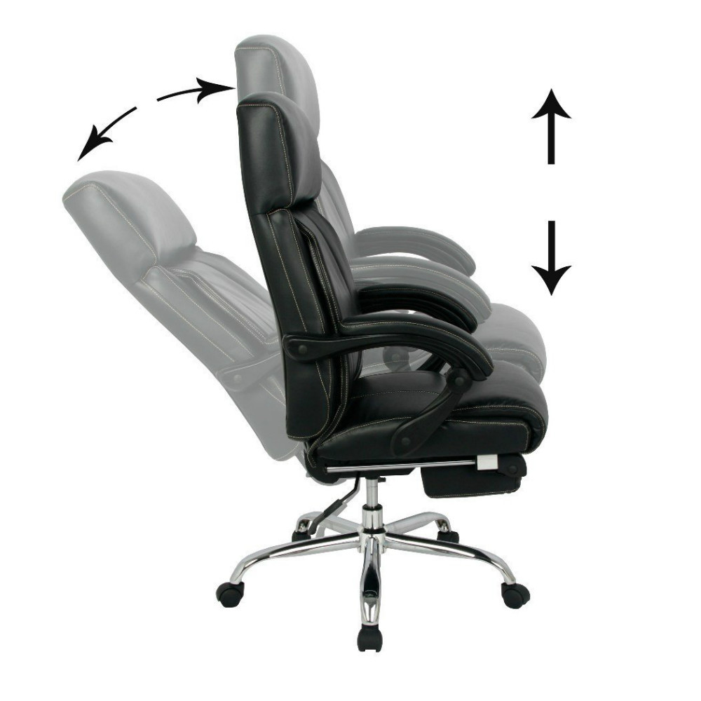 Chaise de bureau inclinable - Fauteuil bureau inclinable ...