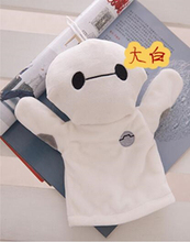 15 kinds Good Quality Plush hand puppets Parent-child early childhood toys kitty Pikachu Minnie Mickey rabbit hand puppets(China (Mainland))