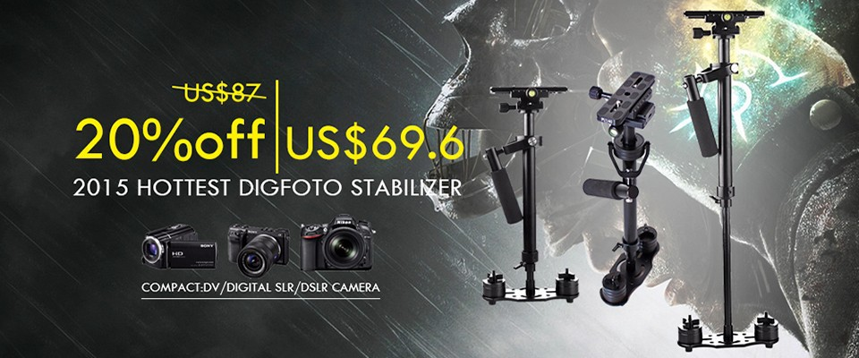 Lanparte HH-01mobile phone smartphone 3 Axis Gimbal Stabilizer gopro 3-axis Brushles handheld video steadicam steadycam