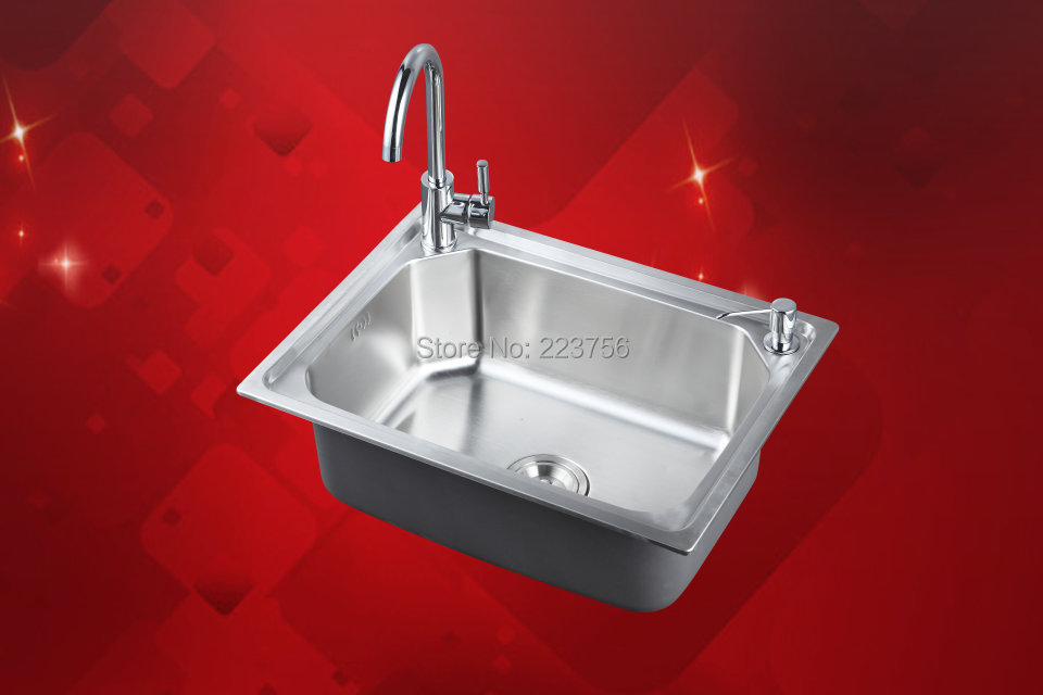 Best Rated Stainless Steel Sinks : ... stainless steel kitchen sink-in Kitchen Sinks from Home & Garden on