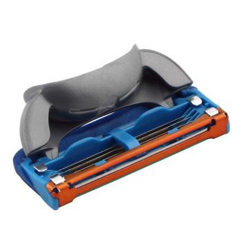 4 шт. высокое качество портативный бритва 5-Blade система точилка лезвия для мужчин