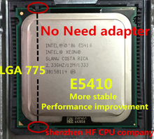 For lntel XEON E5410 2.33GHz/12M/1333Mhz/CPU equal to LGA775 Core 2 Quad Q8200 CPU,(works on LGA775 mainboard no need adapter)(China (Mainland))