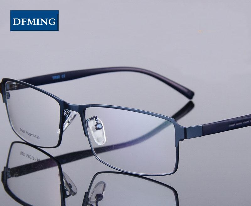 Glasses Frame Size 49 : DFMING BIG size men Eyewear myopia glasses frame men ...