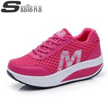 Women casual shoes women summer shoes mesh wedges for women leisure outdoor shoes A664