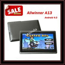 Free Shipping DHL Factory Directly 7 inch Tablet Android 4.0 Capacitive Screen 512M 4GB Camera WIFI Q88 Tablet PC USA(Hong Kong)
