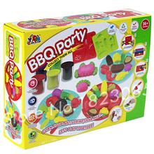 3D colorful BBQ party playdough play doh soft clay Fimo polymer clay tools Children Kids toys Early learning DIY environmental(China (Mainland))