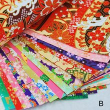 Handmade Materials Gold Lines Paper Crane Gift Packaging Materials Origami Paper Flower Square Scrapbook Papers(China)