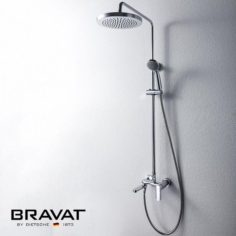 Economic Bath Shower Set Three Spout Function Wall Mounted Shower Bar(China (Mainland))