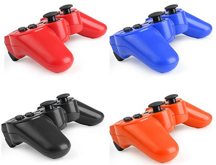 New More Color SIXAXIS Bluetooth Wireless Game Controller for PS3 Free Shipping(China (Mainland))