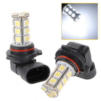 New Arrival HB4 9006 18 LED 5050 SMD White Car Auto Light Source Fog DRL Daytime Running Driving Lamp Bulb DC12V