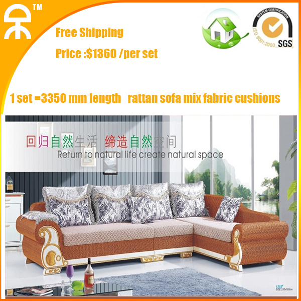 modern corner living room upholstery brown mutifuctional Rattan sofa chaise sleeper couches manufacture for sofa buyer lancaster(China (Mainland))