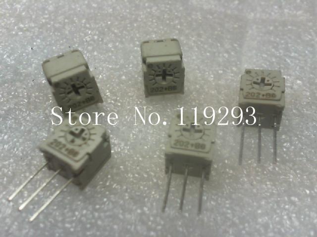 [BELLA]Japan Science Po .. precision adjustable potentiometer 2k .. BA ... tripod Qi--100pcs/lot<br><br>Aliexpress