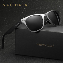 Men's Driving Aluminum Magnesium Polarized Sunglasses Retro Glasses Colorful Rectangle Mirror Sports Sun glasses Male Eyewear