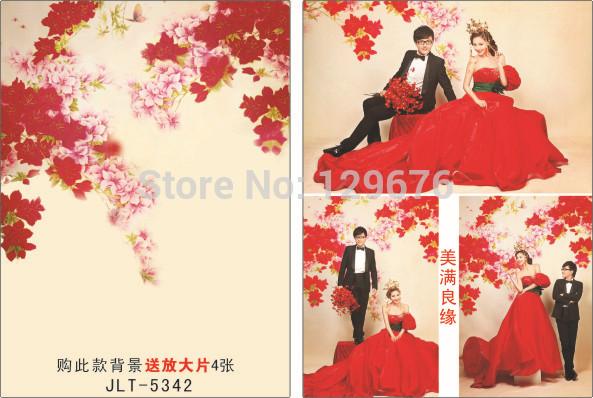 3m*5m Wedding Dress Photography Backdrops Vinyl Custom Photo Studio Background  JLT-5342<br><br>Aliexpress
