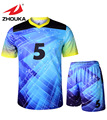 Custom Men s football kit uniform home soccer jersey set full sublimation print personalized football