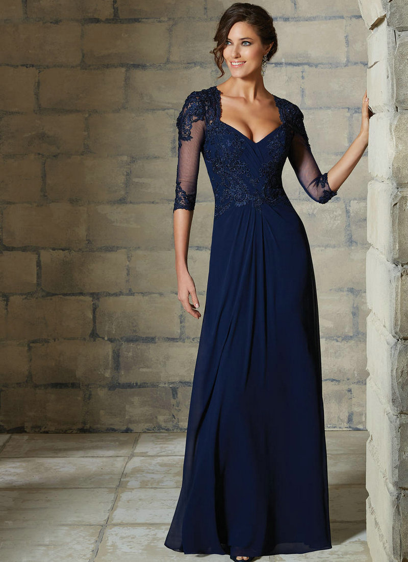 Navy Mother Of The Bride Dresses - Ocodea.com